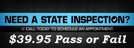 State Inspections Special in Lemoyne PA | Callen Kinback Inc
