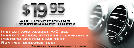 A/C Diagnostic Test Discount